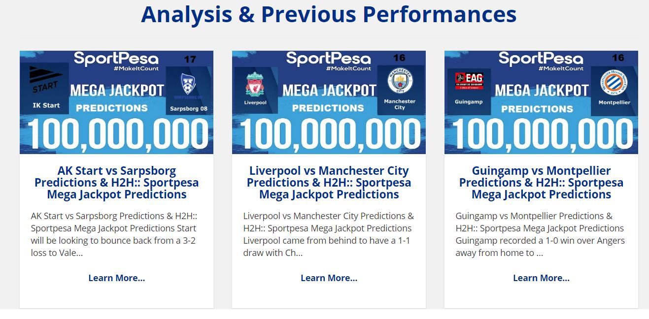 Sportpesa Livescore Predictions