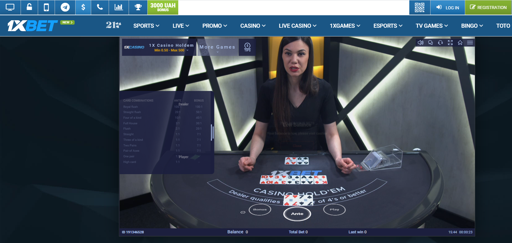 Placing Your Bet and Winning with 1XBET Casino