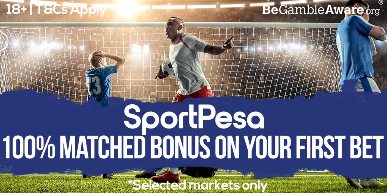 Sign up to Sportpesa to get a jackpot bonus now!
